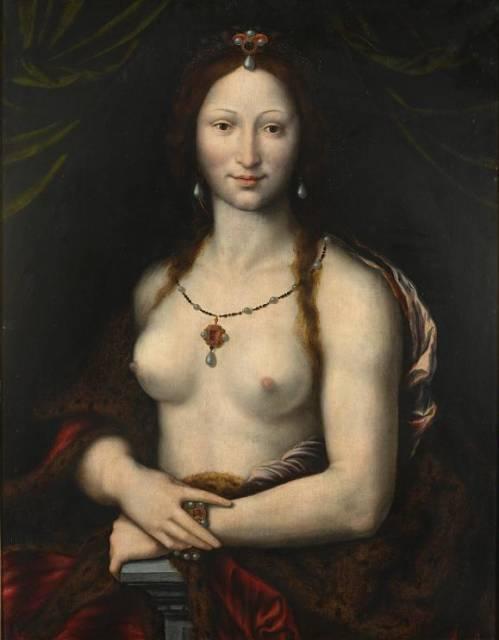 Verses de Mona Lisa nua so destaque em mostra na